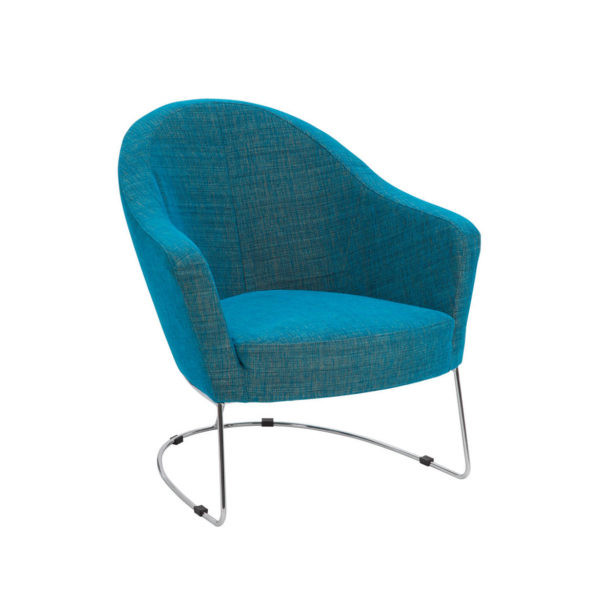 NINA armchair mertE787 turquoise 2