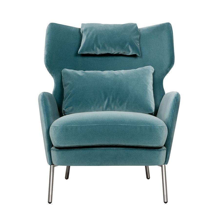 ALEX armchair headrest lario1406 turquoise 1 e1603270886754
